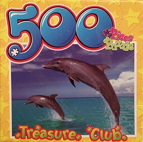 Dolphin Treasure Club 500 Piece Puzzle