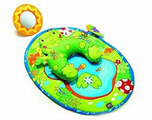 Tiny Love Tummy Time Fun Activity Mat, Frog