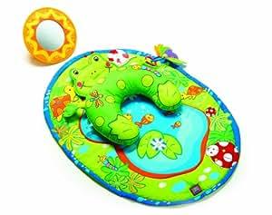 Amazon Com Tiny Love Tummy Time Fun Activity Mat Frog