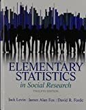 img - for Elementary Statistics in Social Research Plus MySearchLab with Pearson eText -- Access Card Package (12th Edition) book / textbook / text book