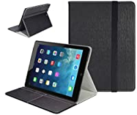 SUPCASE Apple iPad Mini with Retina Display (2nd Generation) Slim Hard Shell Leather Case (Black) - Multi-Angle Viewing, Business Card Holder, Not Compatible with iPad 1/2/3/4/Air by SUPCASE