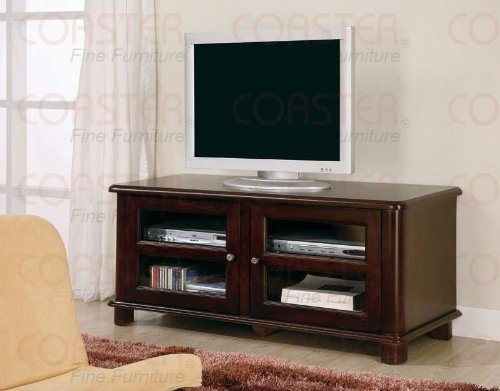 Cheap Cappuccino Finish TV Stand by Coaster Furniture (B005493LGC)