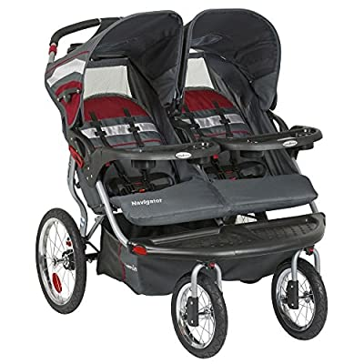 Baby Trend Navigator Double Jogger Stroller - Baltic by Baby Trend Inc that we recomend personally.