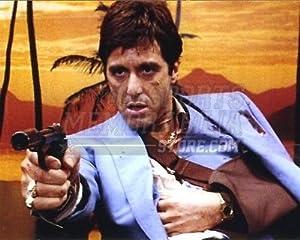 Al Pacino Scarface movie Tony Montana gun arm sling 8x10 11x14 16x20 photo 315 - Size 16x20