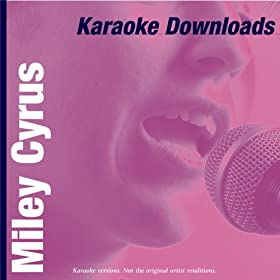 Miley Cyrus Karaoke on Amazon Com  Karaoke Downloads   Miley Cyrus  Karaoke   Ameritz  Mp3
