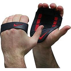 Nike FE0192-073 Alpha Training Grip (Black/Dark Charcoal/Total Crimson)