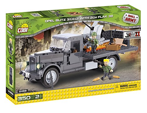 cobi-2468-small-army-wwii-opel-blitz-3t-4x2-with-2cm-flak-38