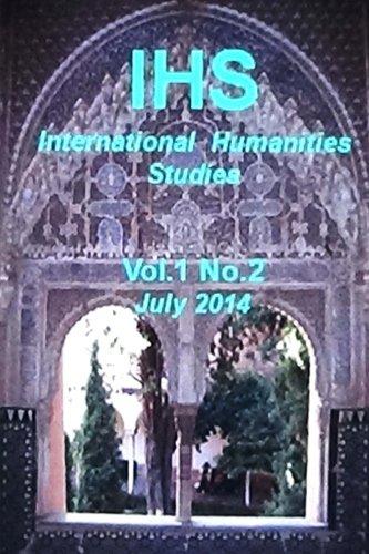 IHS International Humanities Studies, Vol 1. No. 2: Volume 1