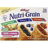 Kellogg's Nutri-Grain Cereal Bars, 36 Count