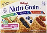 Kellogg's Nutri Grain Variety Pack (1.3oz, 36 ct.)