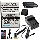 Olympus Tough TG-1 iHS Digital Camera Two LI-90B Batteries + Wall Charger with Car Charger Adapter + USB Card Reader + Memory Card Wallet + Deluxe Starter Kit DavisMAX LI90B Battery Charger Bundle