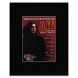 HOZIER - Self Titled Album Matted Mini Poster - 28x21cm