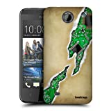 Head Case Designs Faded Ripped Protective Snap-on Hard Back Case Cover for HTC Desire 300