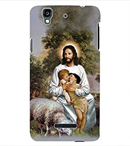ColourCraft Lord Jesus Back Case Cover for YU YUREKA AO5510