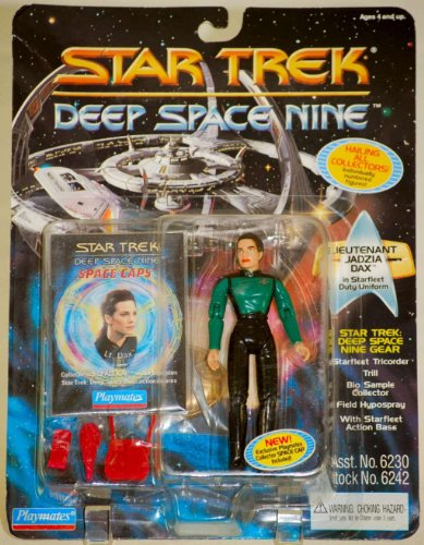 "4.5"" Lieutenant Jadzia Dax in Starfleet Duty Uniform - Star Trek: Deep Space Nine - 1"