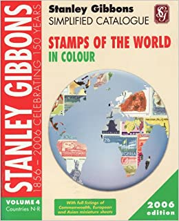 stanley gibbons simplified catalogue of stamps of the world countries n r v 4 simplified. Black Bedroom Furniture Sets. Home Design Ideas