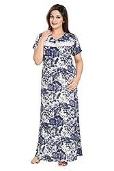 Vimal Fashion Cotton Multi Colour Printed Night Wear / Nightgown / Women Sleepwear / Womans Pyjamas (VF038)