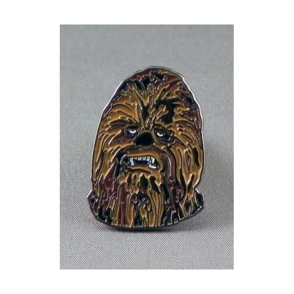 Mtal-mail-Badge--pingle-broche-Star-Wars-Chewbacca-wookiee-Star-Wars
