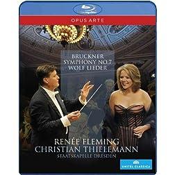 Wolf; Bruckner: Lieder; Symphony 7 (Blu Ray) [Blu-ray]