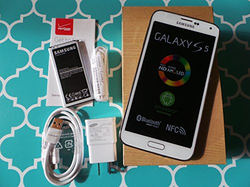 Straight Talk Samsung Galaxy S5. Use Verizon Towers on Straight Talk. (White) (Samsung Galaxy For Straight Talk compare prices)
