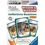Ravensburger 00752 - tiptoi Wissen und Quiz: Gefährliche Raubtiere - Quiz- und Kartenspiel hergestellt von Ravensburger Spieleverlag GmbH