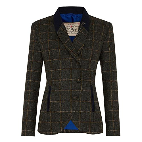 Showing tweed jacket women Tweed blazers for women are appearing everywhere on fashion runways as reimagined by Isabel Marant and Stella McCartney. The new renditions are girly staples for stars like Miranda Kerr and Rihanna.