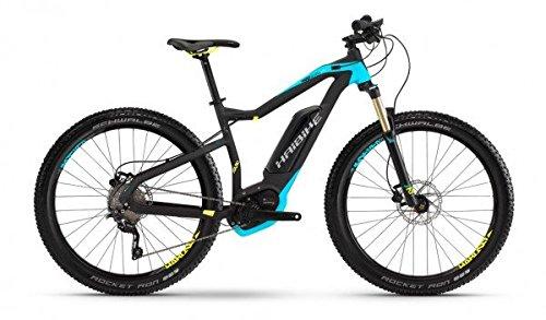 E-Bike Haibike BCXI UD XDURO HardSeven Plus RC 10G 500Wh in schwarz/türkis matt