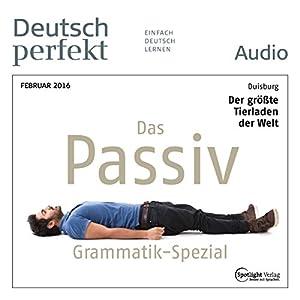 Deutsch perfekt Audio - Grammatik Spezial. 2/2016 Audiobook