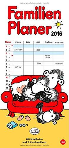 sheepworld Familienplaner 2016, Buch