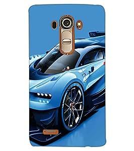 PRINTSWAG CAR Designer Back Cover Case for LG G4
