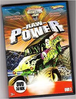 Hot Wheels Monster Jam Raw Power DVD: 0027084455090