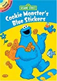 Sesame Street Cookie Monster's Blue Stickers