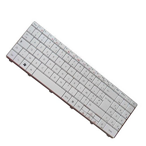 Generic White FR/French AZERTY Keyboard Clavier For Gateway NV52 NV58 NV-40 NV-42 NV-44 NV-48 NV-52 NV-53 NV-54 NV-56 NV-58 NV-73 NV-78 NV79 NV-79 NV79C NV79C17u NV79C27u NV79C35u NV79C36u NV79C37u NV7901U NV7902U NV7906U NV7919U NV7920U NV7921U NV7922U NV7923U NV7925U9095 NV50A NV73A NV51B NV-51B NV51B05U ID54 ID5401H ID58 ID59 NV59A NV55C26u ZQ2 ZR7 ZYB EC54 EC5409U EC5412U EC58 EC5801U EC5802U EC5809U EC5810U EC5811U Series New Notebook Replacement Accessories Replacement (Gateway Nv Keyboard White compare prices)