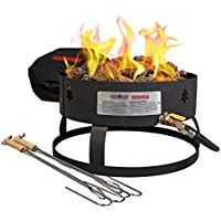 Camp Chef GCLOGM Sequoia Portablle Fire Pit with Carry Bag