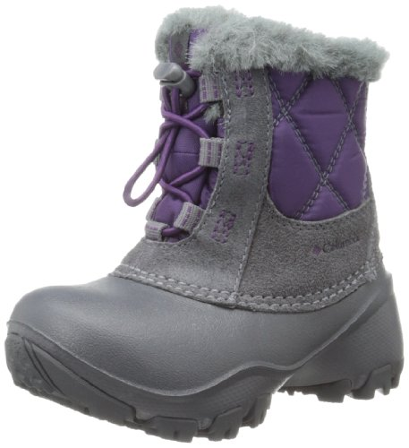Columbia Rope Tow II Waterproof Winter Boot (Toddler/Little Kid/Big Kid),Glory/Shale,12.5 M US Little Kid