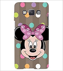 PrintDhaba Minnie Mouse D-1445 Back Case Cover for SAMSUNG GALAXY E5 (Multi-Coloured)