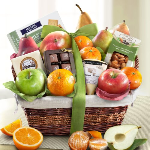 Golden State Fruit The Classic Deluxe Fruit Basket