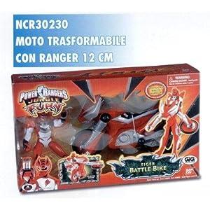 gig 30230 power rangers jungle fury moto con personag giochi e giocattoli. Black Bedroom Furniture Sets. Home Design Ideas