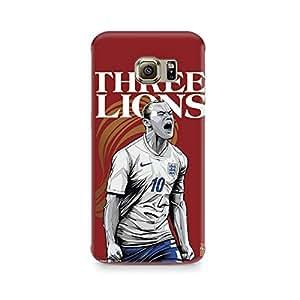 Ebby The Three Lions Premium Printed Case For Samsung S6 Edge Plus