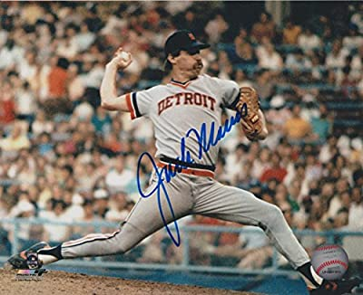 Jack Morris Detroit Tigers MLB 8x10 Autographed Photograph - PITCH H
