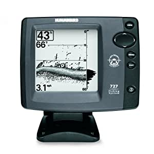 Humminbird 727 5 inch waterproof fish finder for Phone fish finder