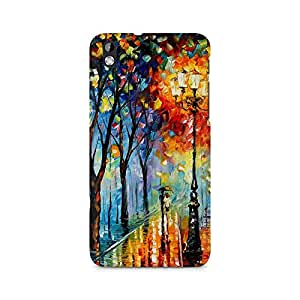 Mobicture Girl Abstract Premium Printed Case For HTC Desire 816