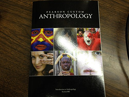 Pearson Custom Anthropology, Introduction to Anthropology, 2014 (Pearson Custom Anthropology compare prices)