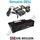 DELL E-Port II Simple Replicator Dock with USB 3.0 Ports and 130W AC Adapter , Dell Model No : PR03X , Comes Complete with PA-4E 130W AC Adapter & UK Mains Cable , Dell P/NS : CPGHK, 452-11429