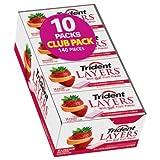 Trident Layers Strawberry & Tangy Citrus Sugar Free Gum - 8/14ct