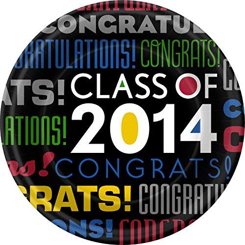 Grad Congrats! Dinner Plates - 1