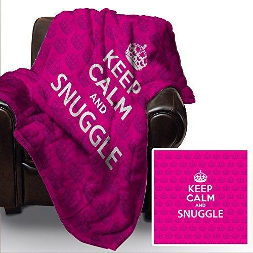 pink-keep-calm-and-snuggle-design-weich-fleece-decke-deckel-uberwurf-sofabett-decke