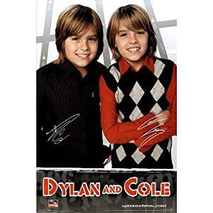 Amazon.com: (24x36) Dylan & Cole Sprouse Movie (Signatures) Poster