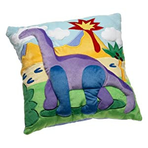 Olive Kids Dinosaurland Plush Pillow