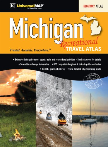 Michigan State Recreational Travel Atlas